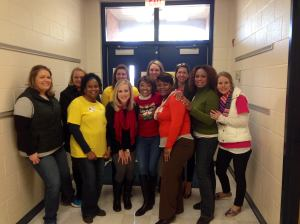 JLM G.R.O.W. volunteers at Brewster Elementary