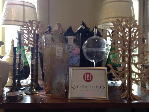 Sample of items donated by Ray & Baudoin Interior Design